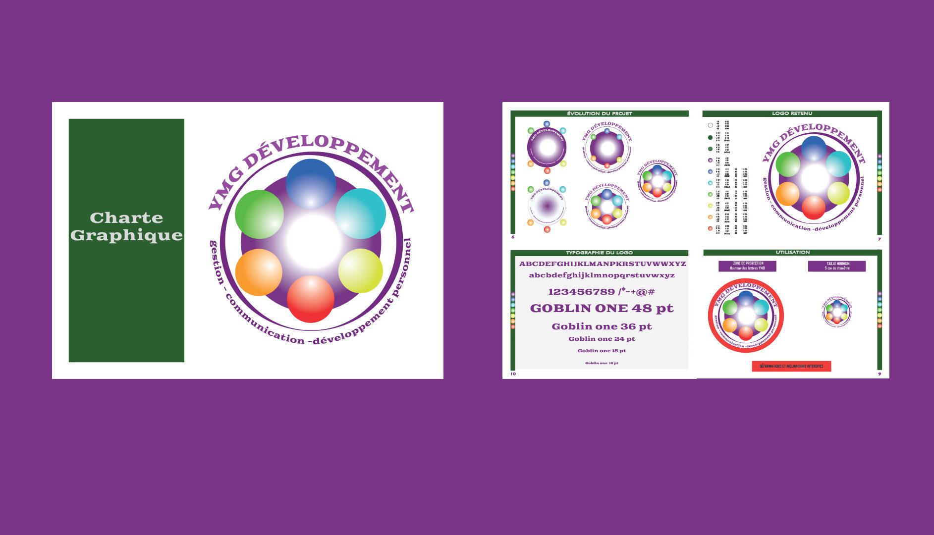 Logo et Charte Graphique - YMG Développement