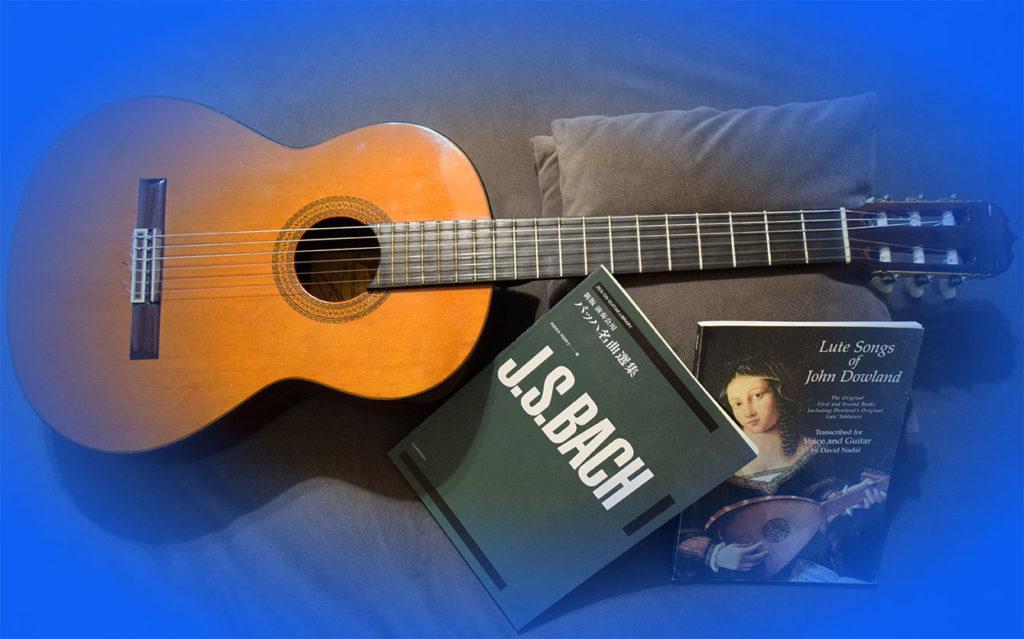 Cours de Guitare classique Vaucluse Pernes Guitare et partition
