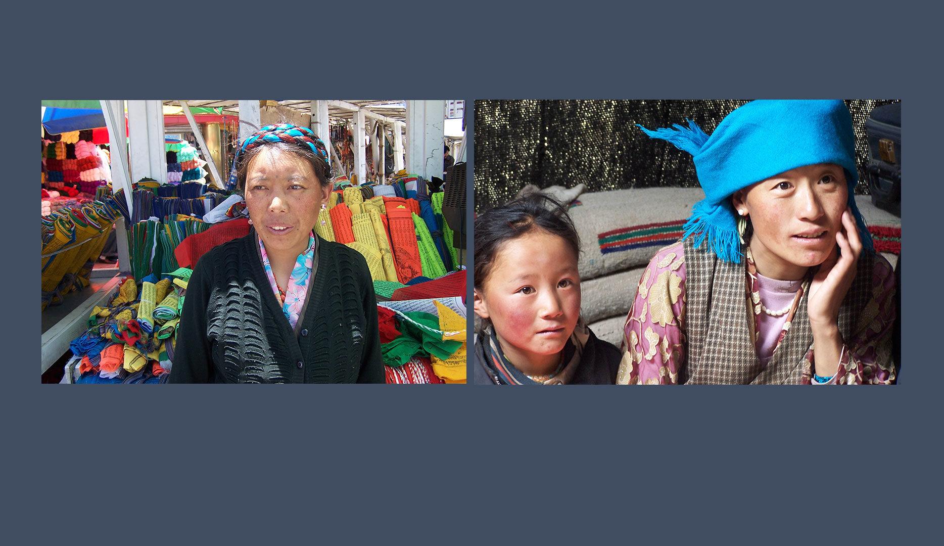 Marchands et nomades Tibétains
