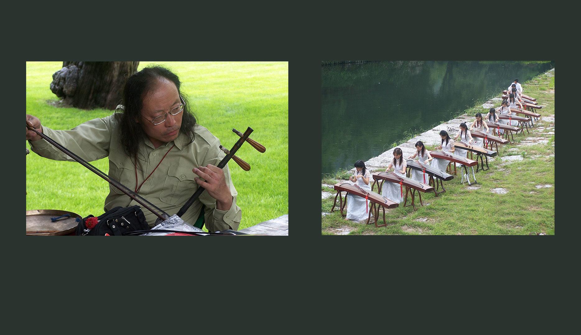 Musiciens en Chine
