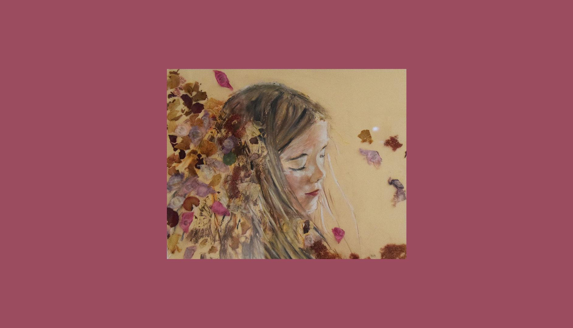 Composition Pastel & Pétales de fleurs