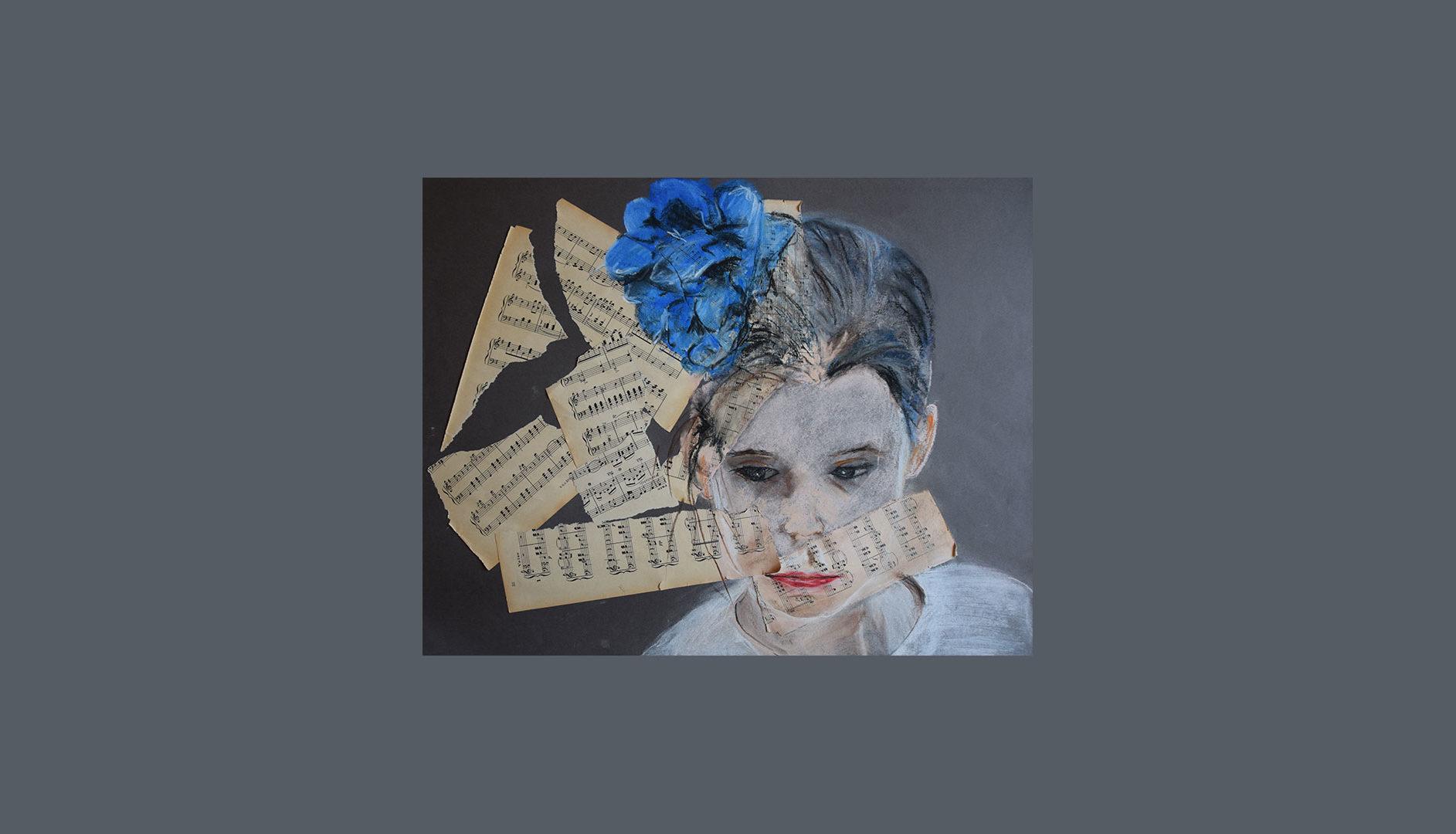 Composition Pastel & Partition de musique