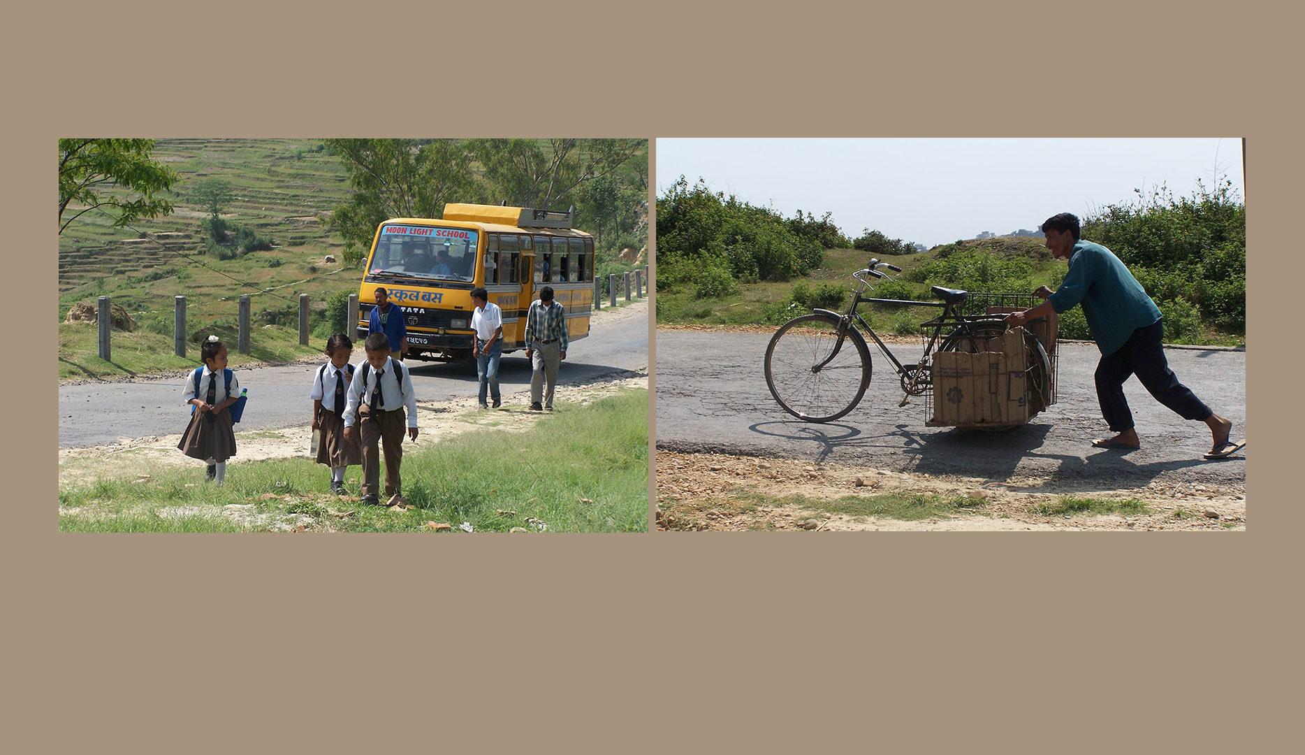 Transports à Katmandou