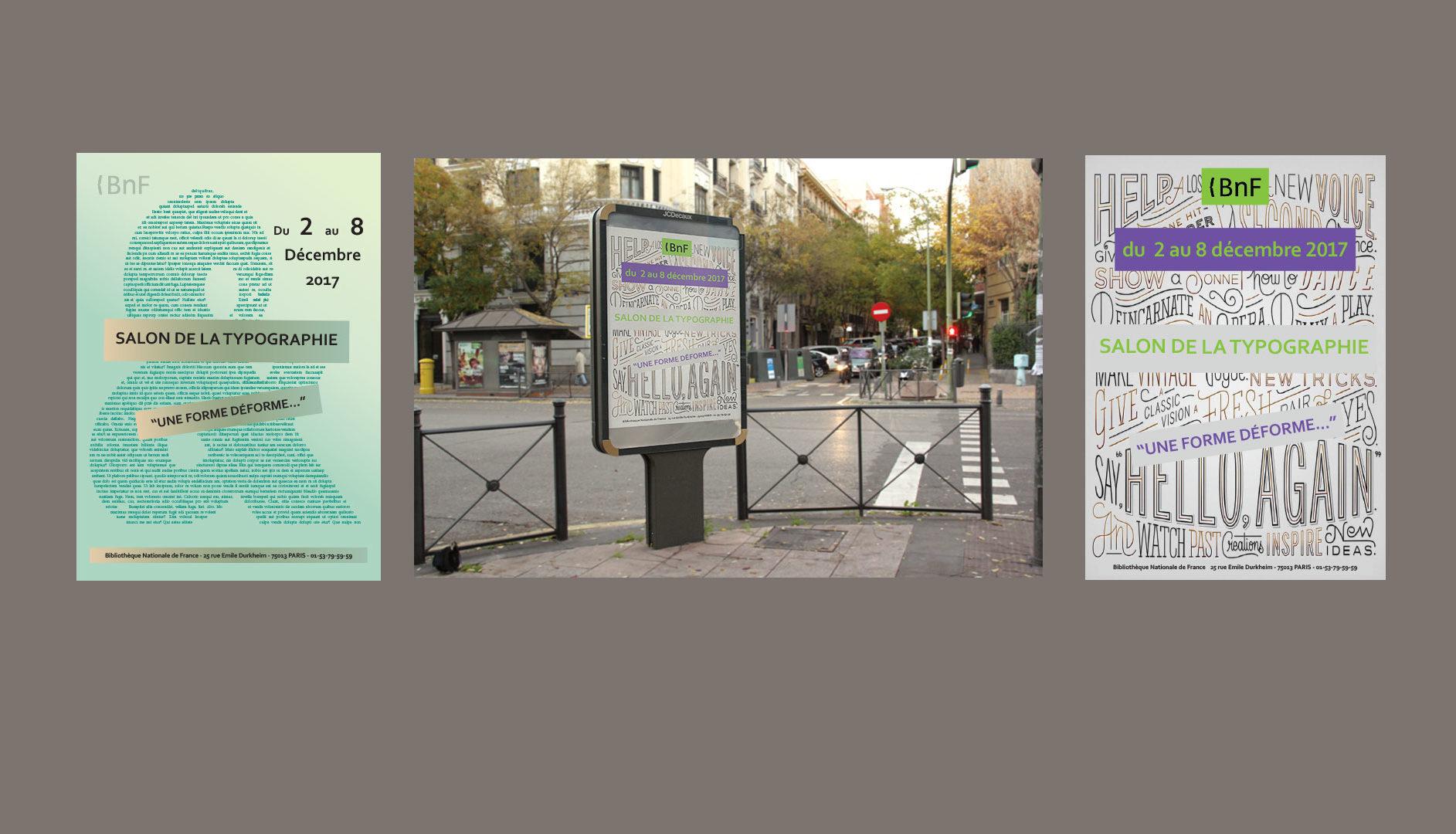Affiche commerciale - Mise en page sur Indesign